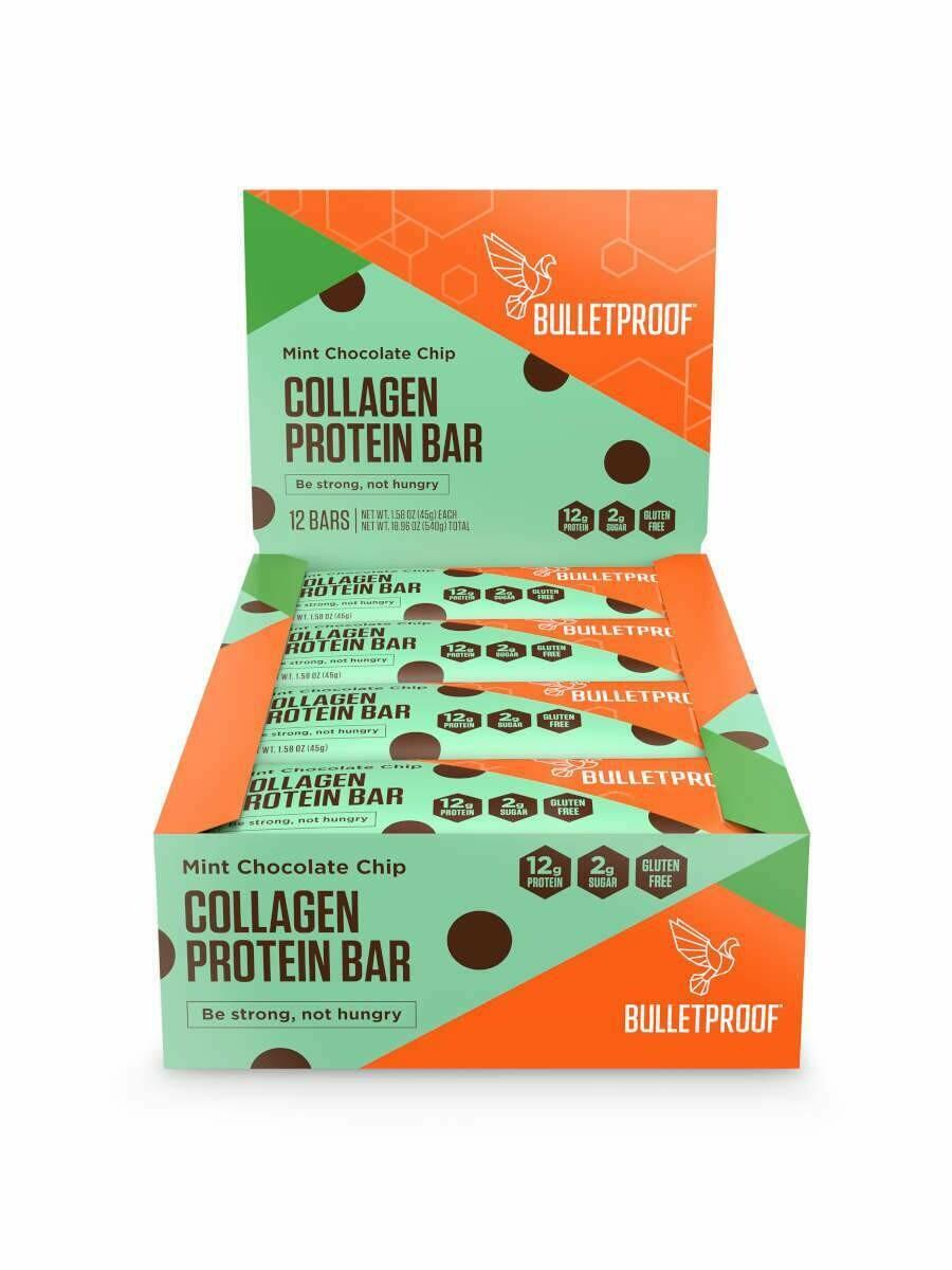 Bulletproof Collagen Protein Bar - Mint Chocolate Chip