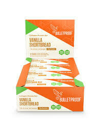 Bulletproof Collagen Protein Bar - Vanilla Shortbread