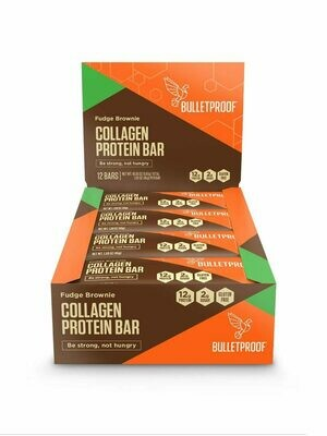 Bulletproof Collagen Protein Bar - Fudge Brownie