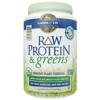 Garden Of Life Raw Organic Protein & Greens (1 lb)