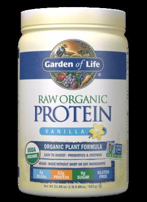 Garden of Life Raw Organic Protein - Vanilla (1 lb)