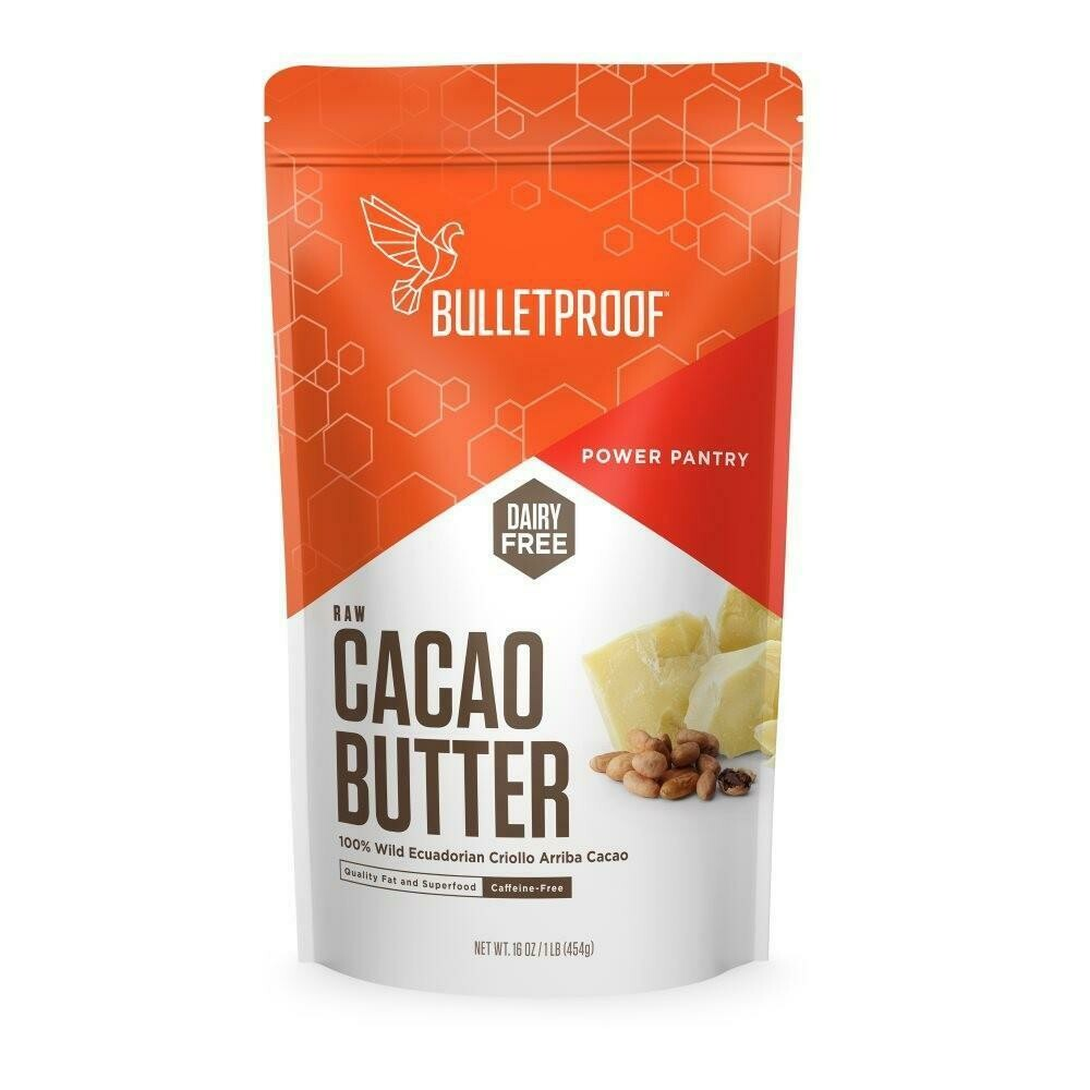 Bulletproof Raw Cacao Butter (1 lb)