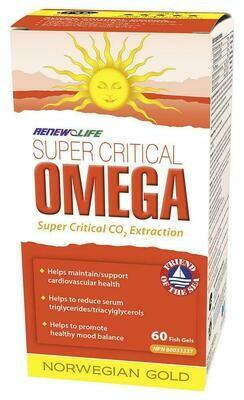 Renew Life - Super Critical Omega - (60)