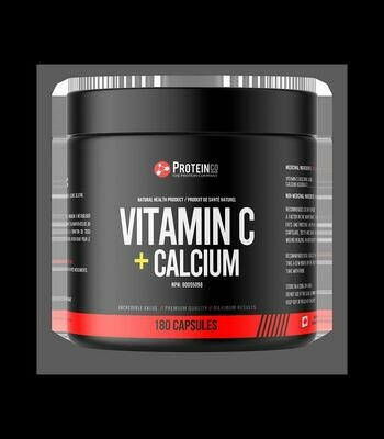Vitamin C + Calcium - 180 capsules