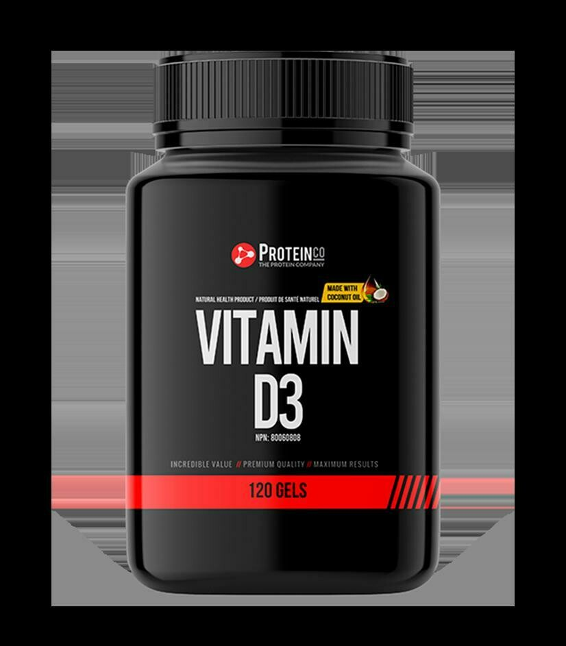 Vitamin D3 - 120 Softgels