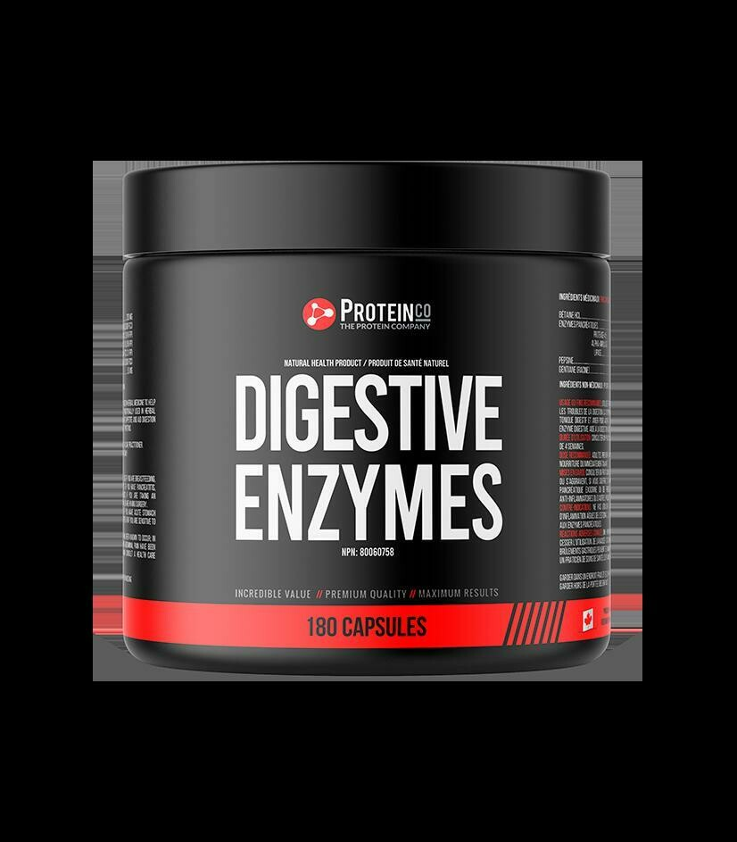 Digestive Enzyme - 180 capsules