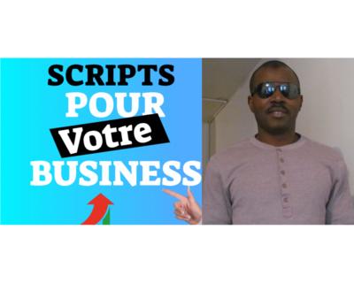SCRIPT VIDEO TEXTE A TROU PDF 50$/mois