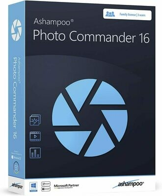 Photo Commander 16 - Photo Editing & Graphic Design Software for Windows 10, 8.1, 7 - make your own photo collages, calendars and slideshows   60$