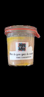 Bloc de Foie Gras de Canard sans conservateur 100g