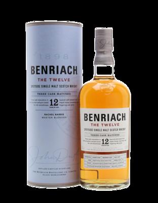 "BenRiach 12 ans ""The Twelve"""