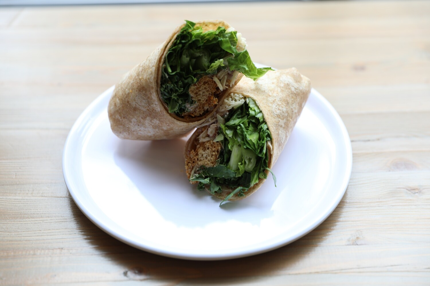 Spicy Kale Wrap