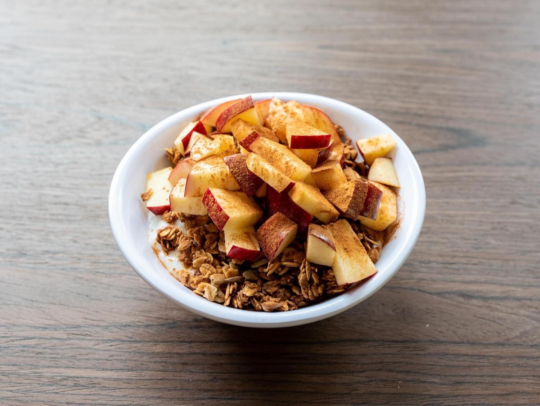 Apple Cobbler Yogurt Bowl