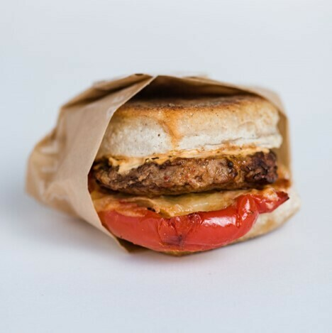 Breakfast Sandwich (Red Pepper)