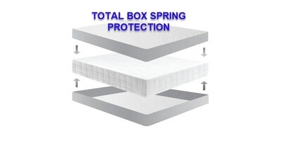 BED BUG BOX SPRING ENCASEMENT
