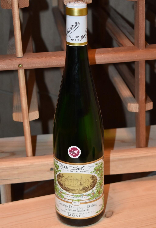 Weingut Max Ferd. Richter Graacher Dompropst Riesling Spätlese Feinherb 2011
