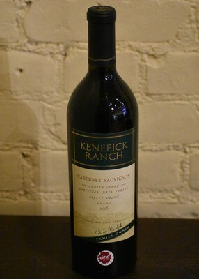 "Kenefick ""Chris' Cuvee"" Estate Cab Sauv"