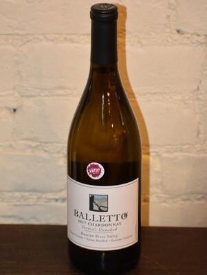 """Balletto """"Teresa's Unoaked"""" Chardonnay"""