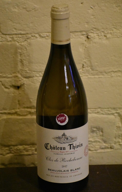 """Chateau Thivin """"Clos de Rochebonne""""  Beaujolais Blanc"""