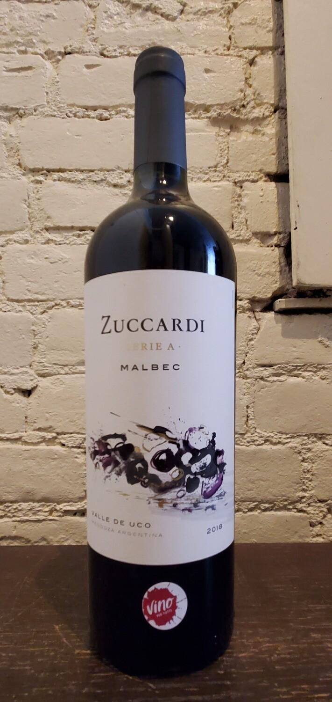 """Zuccardi """" A"""" Malbec"""