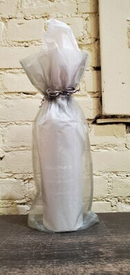 Organza Gift Wrapping, Silver