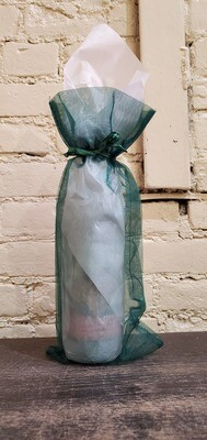 Organza Gift Wrapping, Green