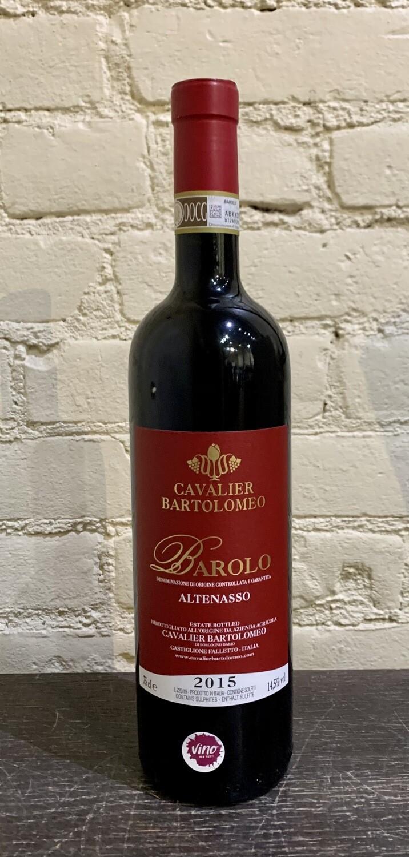 "Cavalier Bartolomeo ""Altenasso"" Barolo 2015"