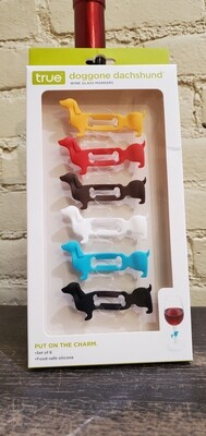 Doggone Dachshund Drink Charms