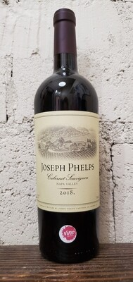 Joseph Phelps Napa Valley Cabernet Sauvignon 2018