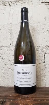 """Vincent Girardin """"Cuvée Saint-Vincent"""" Bourgogne Blanc 2016"""
