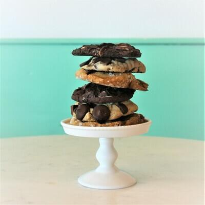 6 Assorted Seasonal Cookies