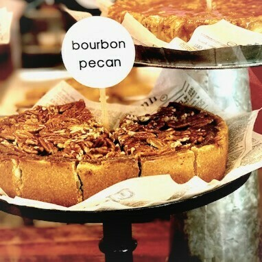 Slice Bourbon Pecan Pie