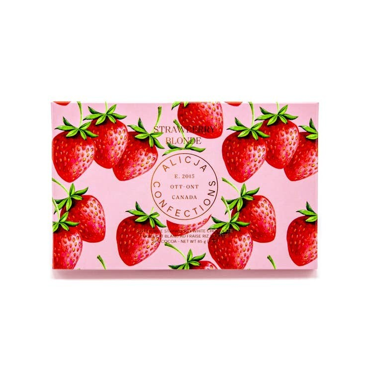 Strawberry Blonde Cripsy White Chocolate