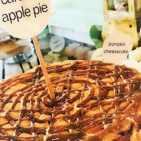 Whole Caramel Apple Pie