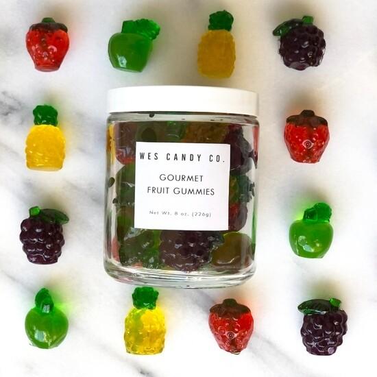 Gourmet Gummy Fruits