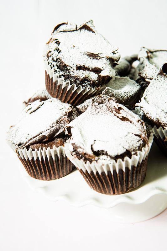 Fallen Soufflé Brownie