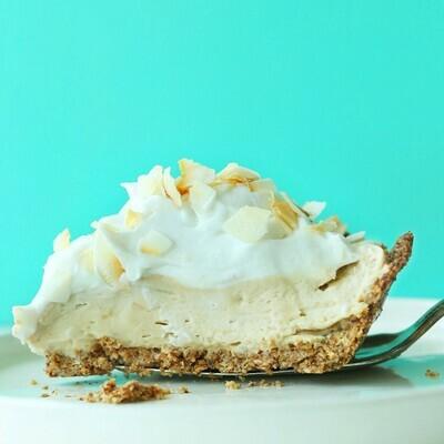 Slice Coconut Cream Pie