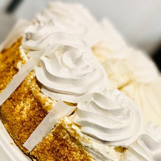 Slice Key Lime Cheesecake