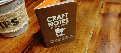 Craftnotes Coffee Passport