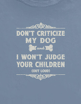 Don't Criticize