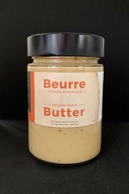 Beurre d'érable biologique 475g pot en verre