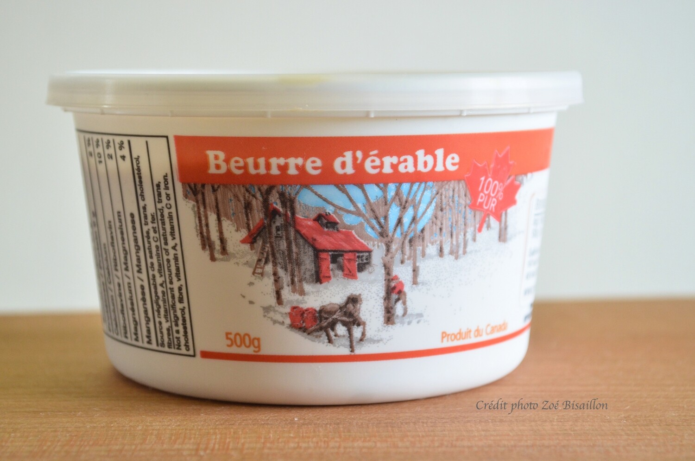 Beurre d'érable biologique 500g