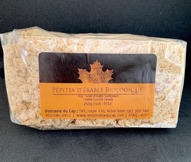 Pépites de sucre d'érable biologique 250g
