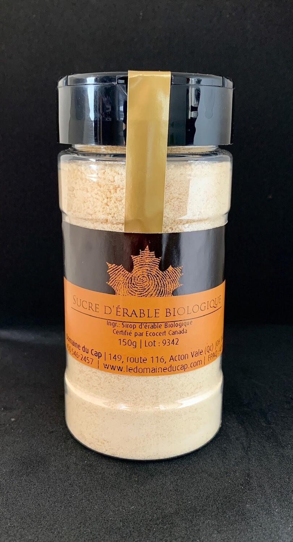 Sucre d'érable biologique 150g (en pot)