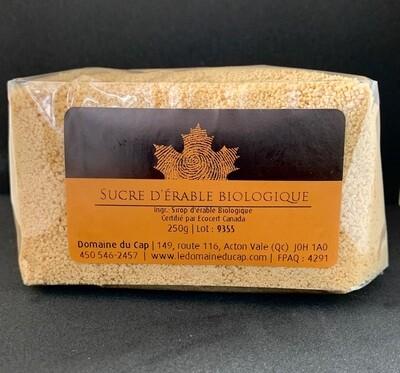 Sucre d'érable biologique 250g (en sac)