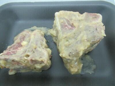 Agneau-Côtelettes d'agneau avec filet dijonnaise et sirop d'érable