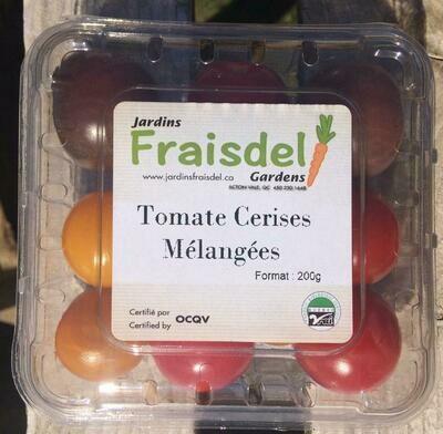 Tomates cerises mélangées 190g