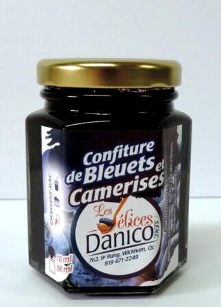 Confiture bleuets et camerises 190 ml