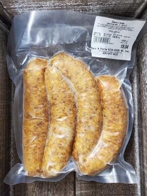 Porc-Saucisse Moutarde et Miel