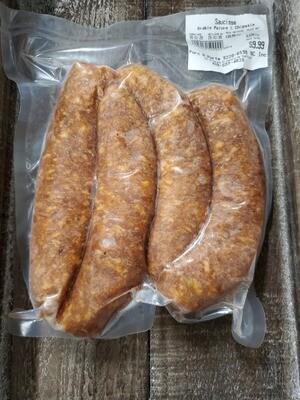 Porc-Saucisse Érable Poivre et Chipotle