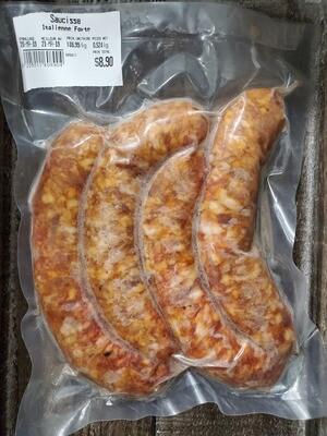 Porc-Saucisse Italienne Forte